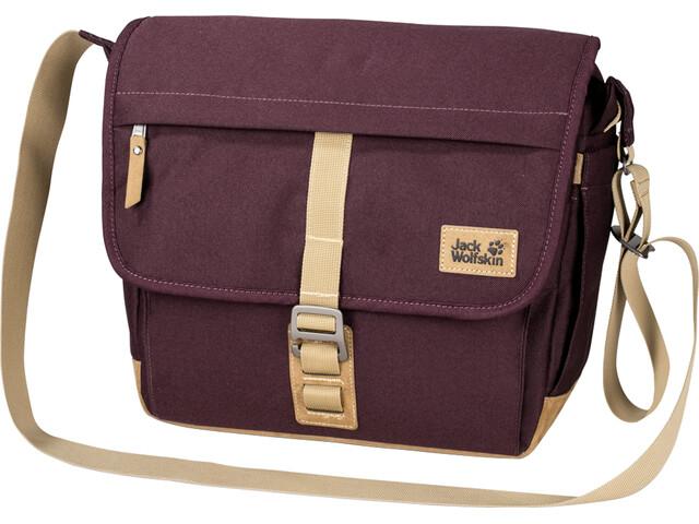 Jack Wolfskin Camden Town Shoulder Bag burgundy